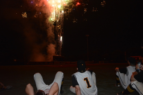 Fireworks, Team Photo Giveaway TONIGHT!